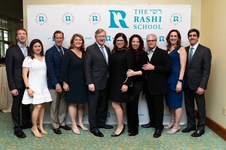 From left: Chuck and Jessica Myers, Darren and Michelle Black, Michael and Dena Rashes, Rachel and Larry Chafetz, and Lisa and Neil Wallack (Courtesy photo)