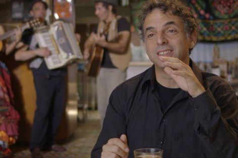 "Etgar Keret in the documentary ""Etgar Keret: Based on a True Story"" (Courtesy photo)"