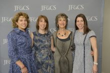 From left: Lauren Rubin, Betsy Johnson, Peggy Kaufman and Lori Shaer (Courtesy photo)