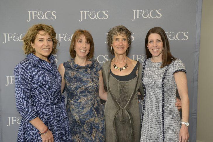 From left: Lauren Rubin, Betsy Johnson, Peggy Kaufman and Lori Shaer (Courtesy photo)