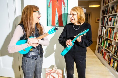 Roz Chast, right, and Patty Marx (Courtesy photo)