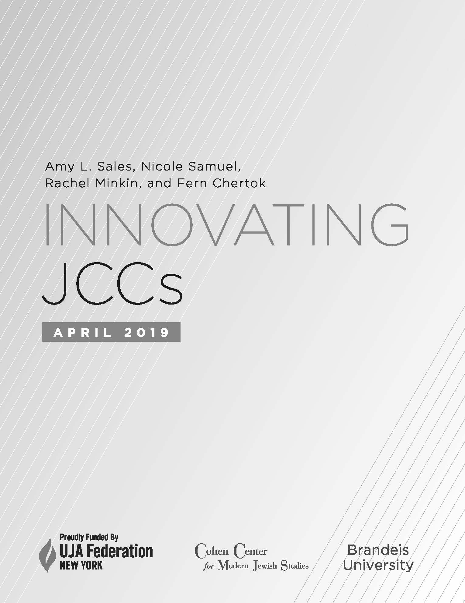 cover of jcc report