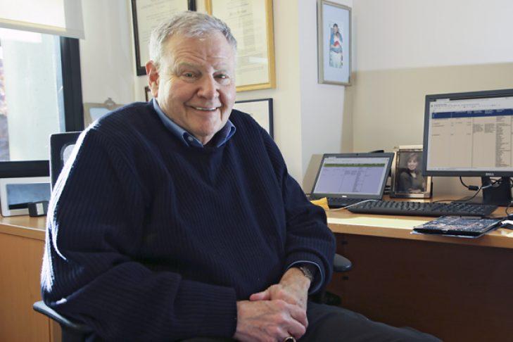 Barry Shrage (Courtesy Brandeis University)