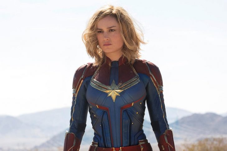 "Brie Larson in ""Captain Marvel"" (Promotional still)"