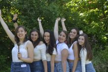 BBG Regional Board, from left: Samara Quintero, Dora Friedman, Abby Avin, Lila Caplan, Dora Elice and Bella London (Courtesy photo)