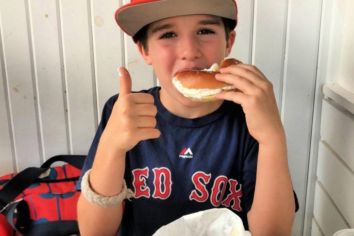 Kara's 8-year-old son, Andy, on vacation (Courtesy Kara Baskin)