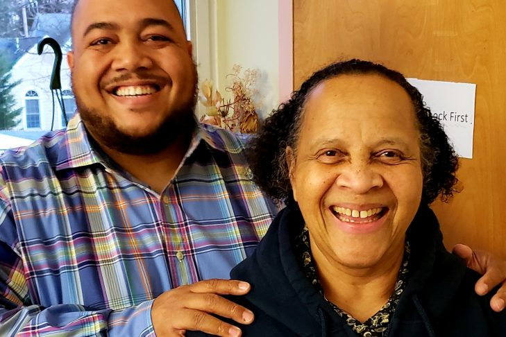 David Grant and his mother (Courtesy photo)