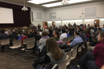 "Over 200 Lexington parents and teens attended the community screening of ""Screenagers: Growing up in the Digital Age"" that was screened at Temple Emunah in 2017. (Courtesy photo)"