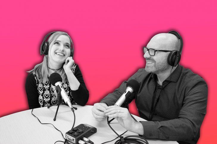 Miriam Anzovin and Dan Seligson (Image: Miriam Anzovin)