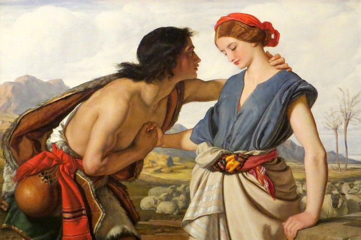 """Rachel and Jacob"" by William Dyce"