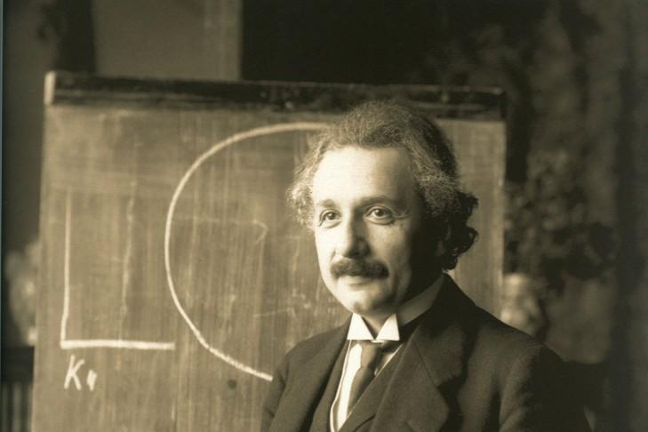 Albert Einstein (Photo: National Library of Austria)