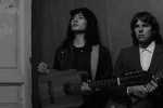 "Russian punk star Viktor Tsoi (Teo Yoo), left, is depicted in a still from the new Russian film ""Leto"" (Courtesy Gunpowder & Sky)"