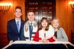 From left: Benjamin, Jordan, Hannah and Sarah Pessin (Courtesy photo)