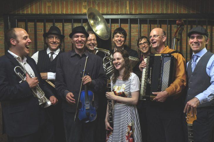 The Klezwoods (Courtesy photo)
