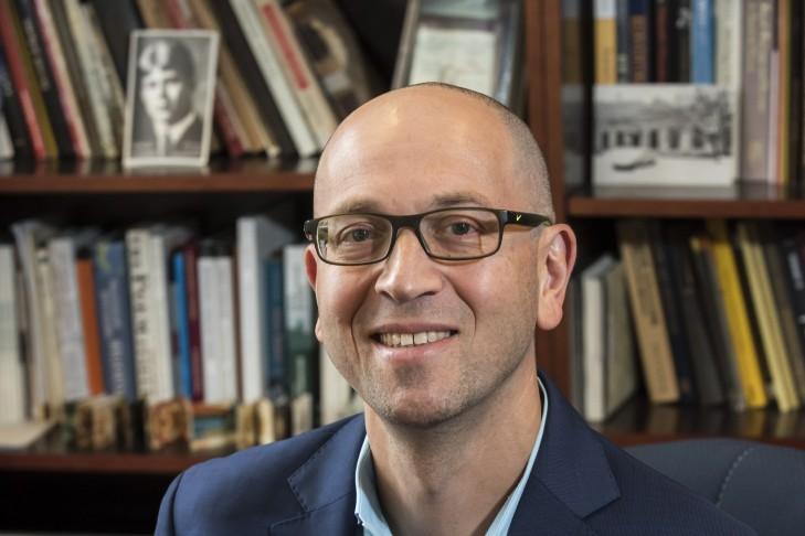 Professor Maxim D. Shrayer (Courtesy photo: Lee Pellegrini/Boston College)