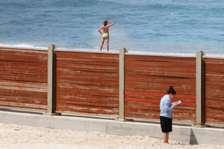 """""""Kosher Beach"""" (Promotional still)"""
