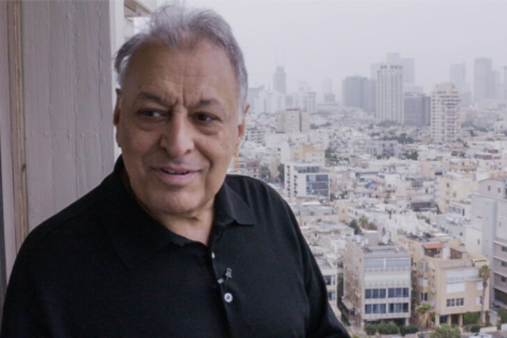 """""""Good Thoughts, Good Words, Good Deeds: The Conductor Zubin Mehta"""" (Promotional still)"""