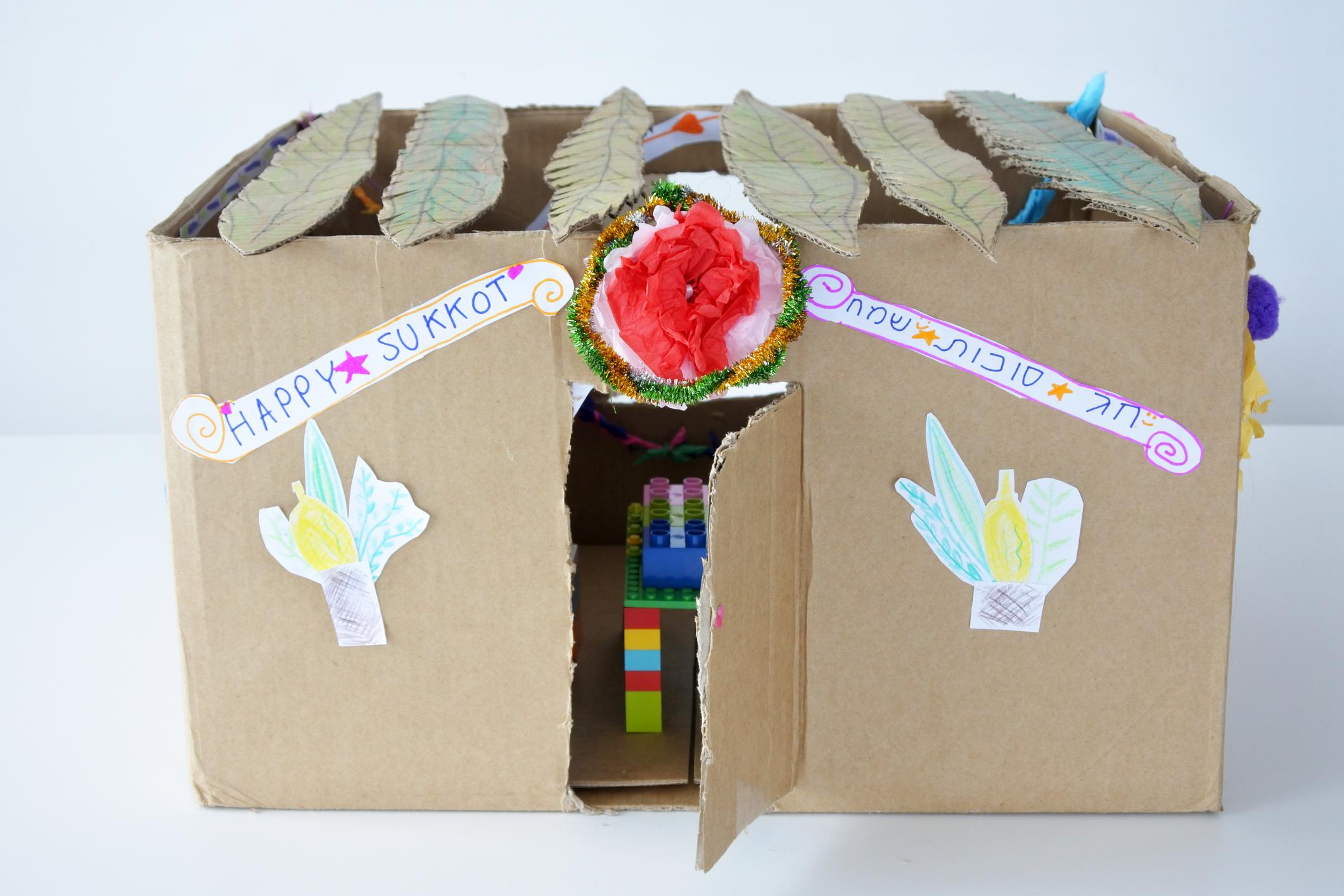 Sukkot Crafts for Kids | JewishBoston  |Sukkot Crafts For Teens