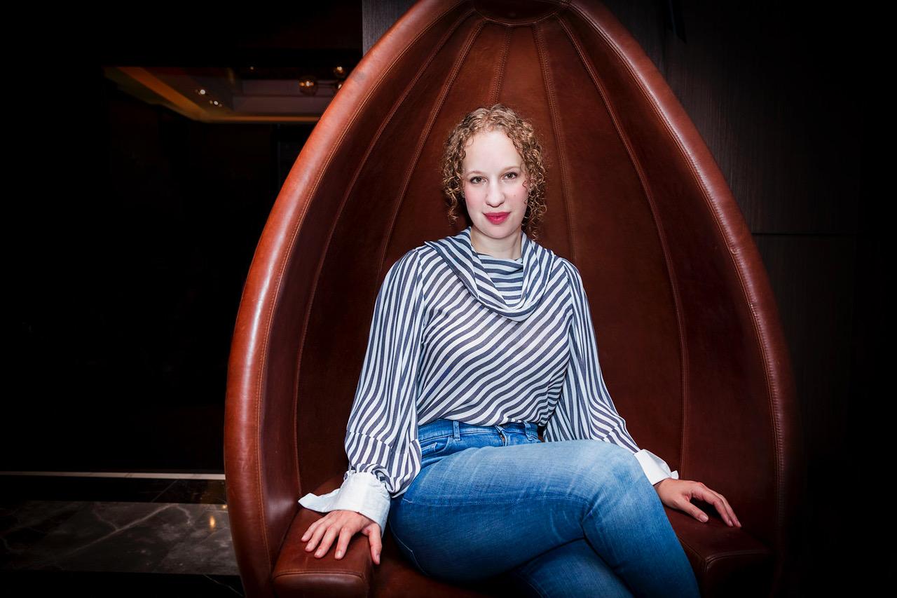 Naomi Levy, photographed at Kimpton Nine Zero Hotel in Boston (Photo: Caitlin Cunningham)