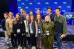 "Rashi alumni and students at ADL's ""The Good Fight"" (Photo: The Rashi School)"