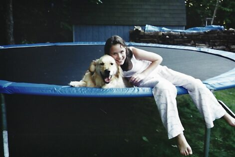 Shaney Wacks during the summer before seventh grade, a few months before her diagnosis (Courtesy Shaney Wacks)