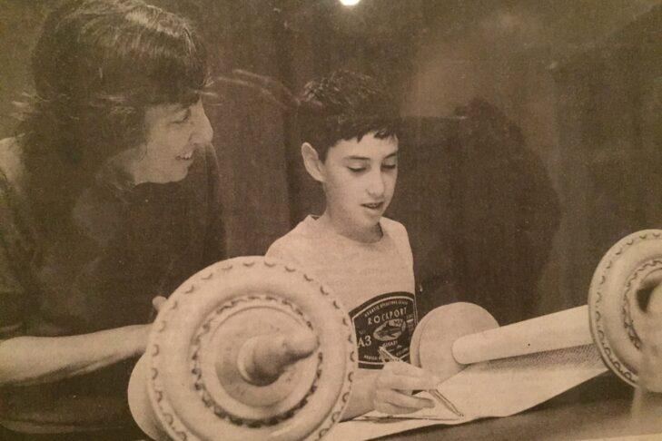 Rabbi Susan Abramson and her son, Aaron (Courtesy photo)