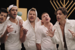 Boyz II Menorah (Video still)
