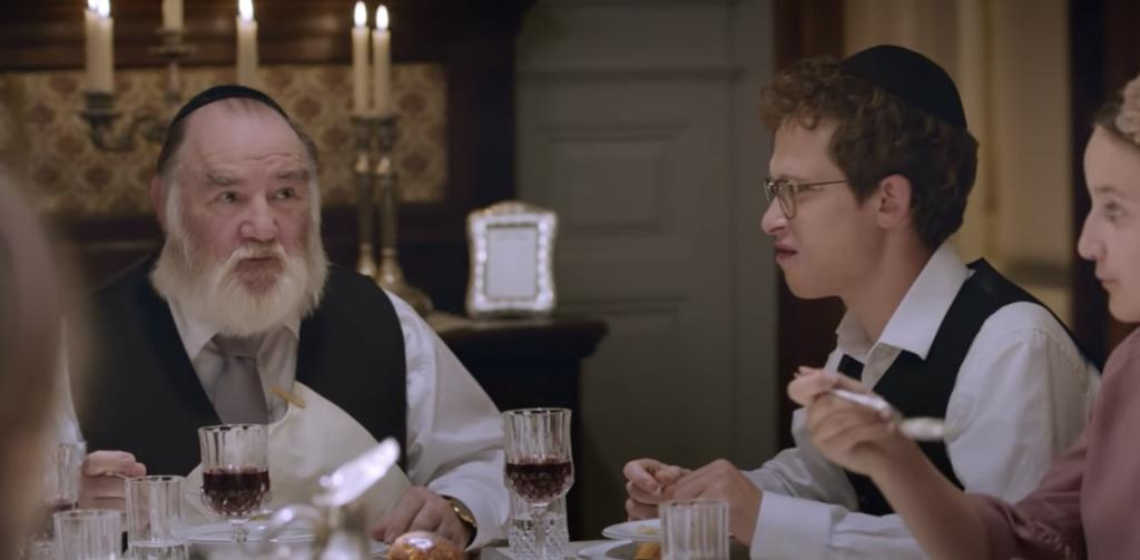 Udo Samel and Joel Basman in The Awakening of Motti Wolkenbruch (Promotional still)
