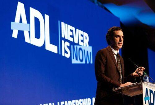 Sacha Baron Cohen (Courtesy photo: Jennifer Liseo/ADL)