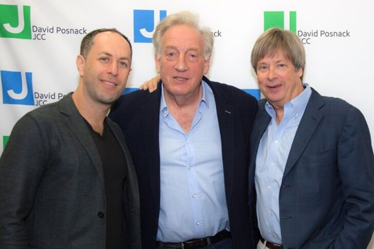 From left: Adam Mansbach, Alan Zweibel and Dave Barry (Courtesy photo: David Posnack JCC)