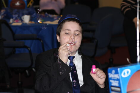 Isaac Marin at his bar mitzvah (Courtesy photo)