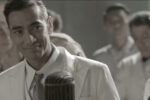 In an effort to overcome ongoing objections, Philippines President Manuel L. Quezon (Raymond Bagatsing) takes to the airwaves to enlist the support of the Filipino people to publicly convince the U.S. to allow Jewish refugees to emigrate to the Philippines during World War II; the tactic works. (Courtesy ABS-CBN Films)