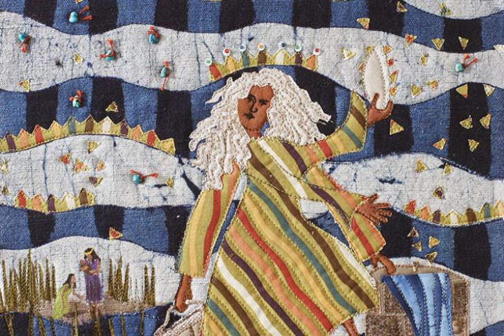 """Hukkat"" from ""Seeing Torah"" by Anita Rabinoff-Goldman (Courtesy photo)"