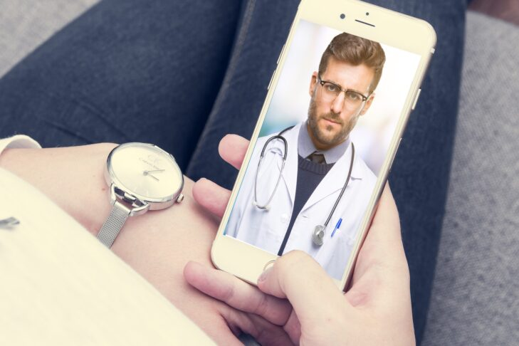 Through the platform-based Datos mobile app, doctors at Sheba Medical Center in Israel can make video calls to individuals with potential symptoms of the new coronavirus (Courtesy Sheba Medical Center)