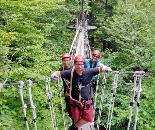 Zip Line Canopy Tour and Treetop Adventure Photos at ArborTrek/S