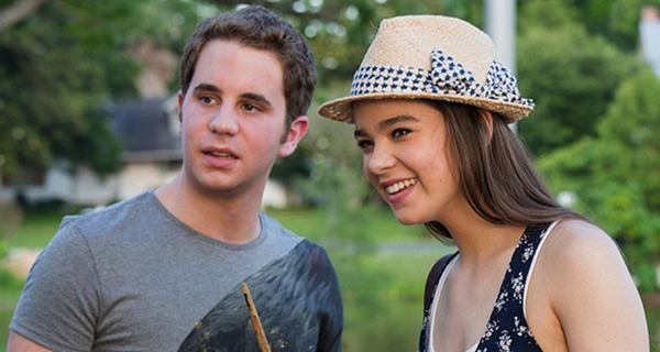 Ben Platt and Hailee Stienfeld in Pitch Perfect 2 (Promotional still)