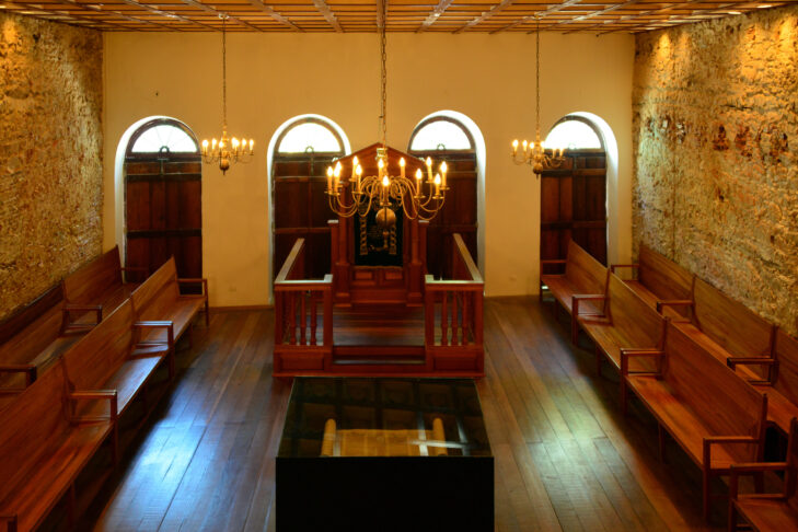 Recife, Pernambuco, Brazil: Kahal Zur Israel Synagogue, the first Jewish congregation in the New World, is the oldest synagogue in the Americas built by Portuguese Jews (Photo: mtcurado/iStock)