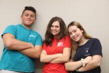 From left: Josh May, Rachel Kessler and Ryann Bloom (Photo: JTI)