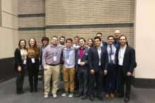 ClarkU Hillel at AIPAC (Courtesy photo)