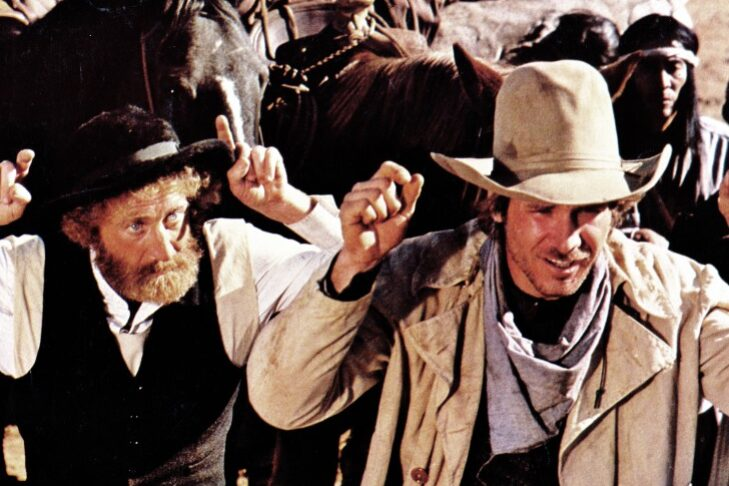 "Gene Wilder and Harrison Ford in ""The Frisco Kid"" (Courtesy image)"