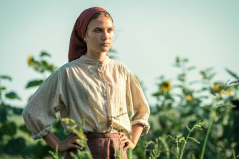 """Zuzanna Surowy in """"My Name Is Sara"""" (Promotional still)"""
