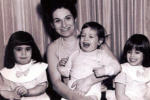 Judy Bolton-Fasman, left, with her sister, mom and brother (Courtesy photo)