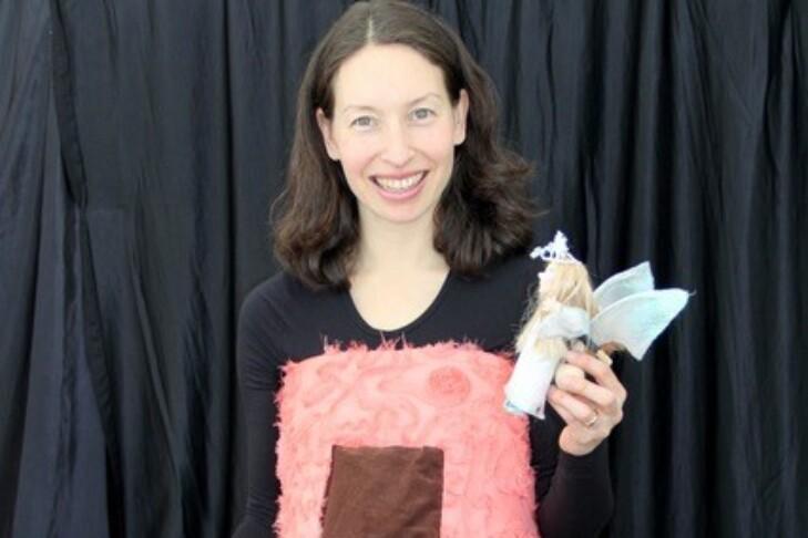 Puppeteer Anna Sobel (Courtesy photo)