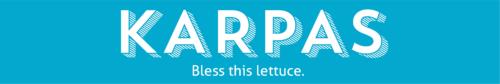 seder section email header KARPAS
