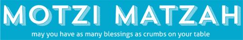 seder section email header MOTZI MATZAH