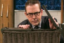 """Ted Allen on """"Chopped"""" (Courtesy photo: Susan Magnano)"""