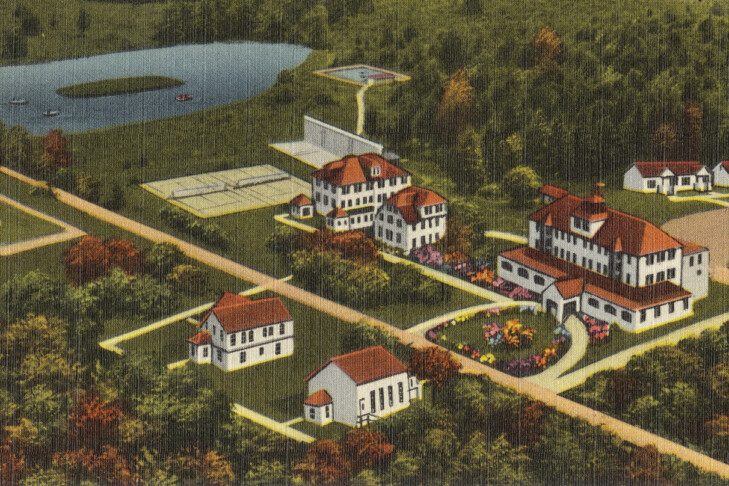 (Postcard: Tichnor Brothers Collection/Boston Public Library)