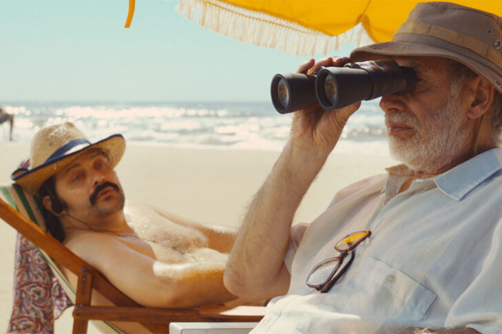 "Nestor Guzzini and Hector Noguera in ""Mr. Kaplan"" (Promotional still)"