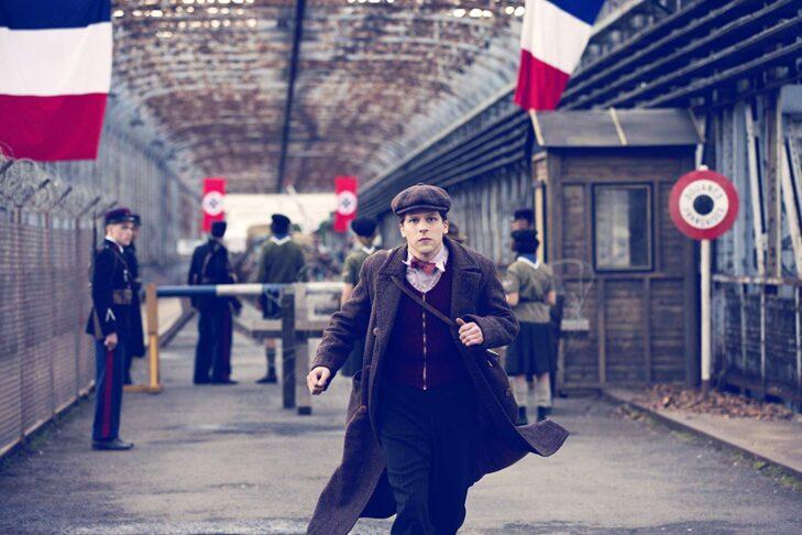 "Jesse Eisenberg in ""Resistance"" (Promotional still: IFC Films)"