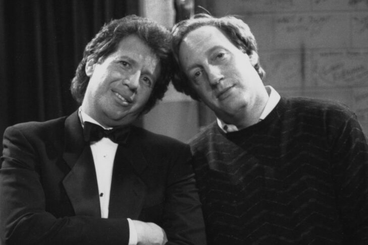 Alan Zweibel, right, and Garry Shandling (Courtesy photo)